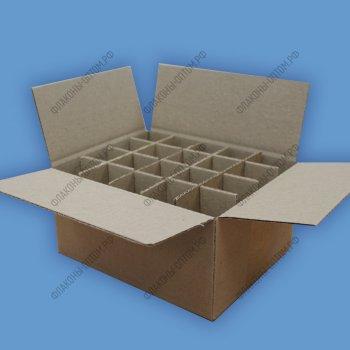 Коробки для стеклянных флаконов объемом 30 мл