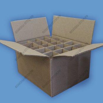 Коробки для стеклянных флаконов объемом 60 мл