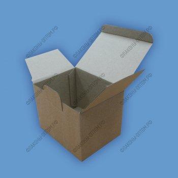 Коробки для флаконов с твист крышкой объемом 30мл (самосборные)